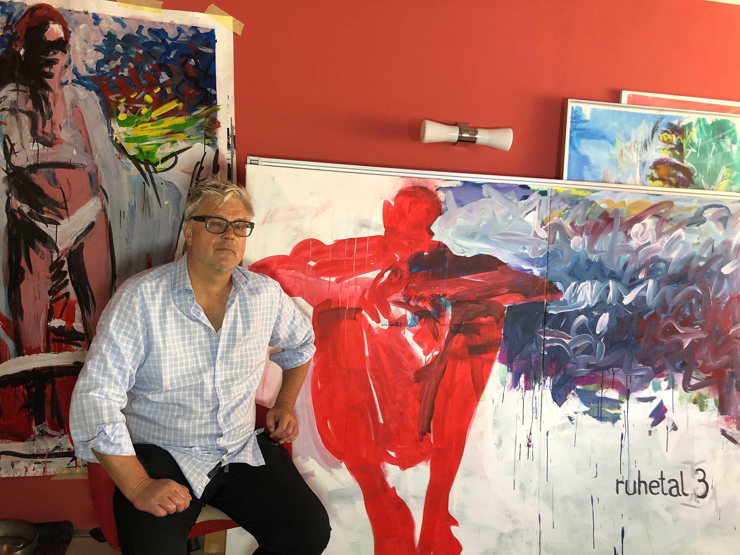 Konsum163, modern art gallery, Galerie, Mongi Higgs, Künstler