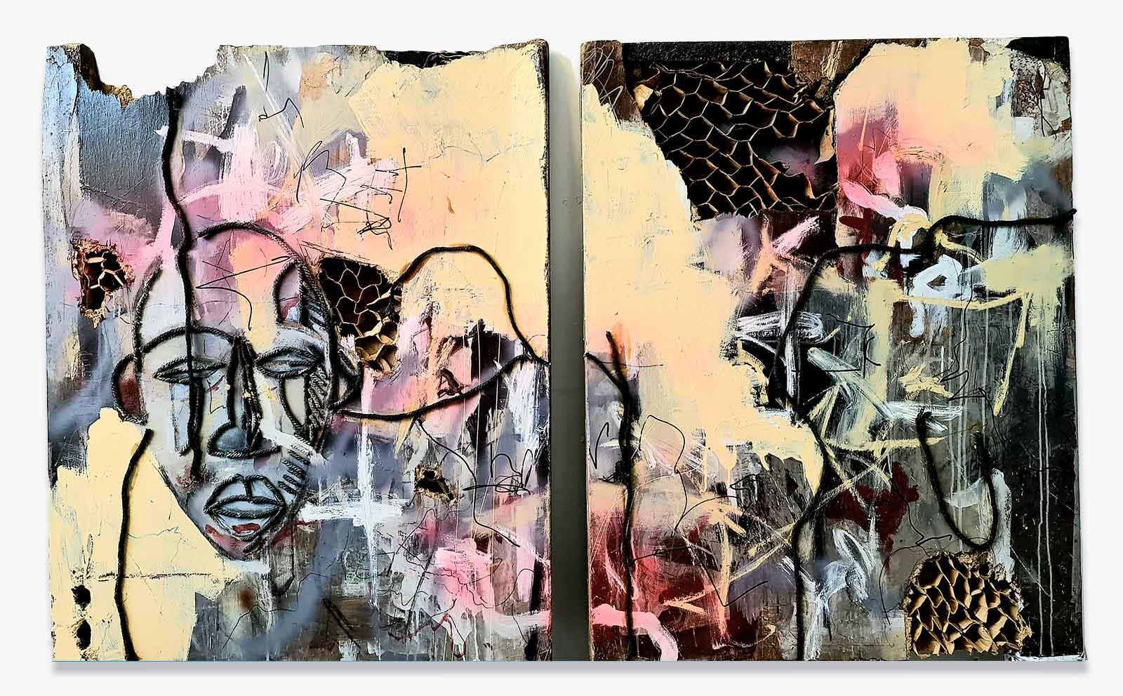 masqueradeIII-richard-ketley-konsum163-modern-art-gallery-galerie